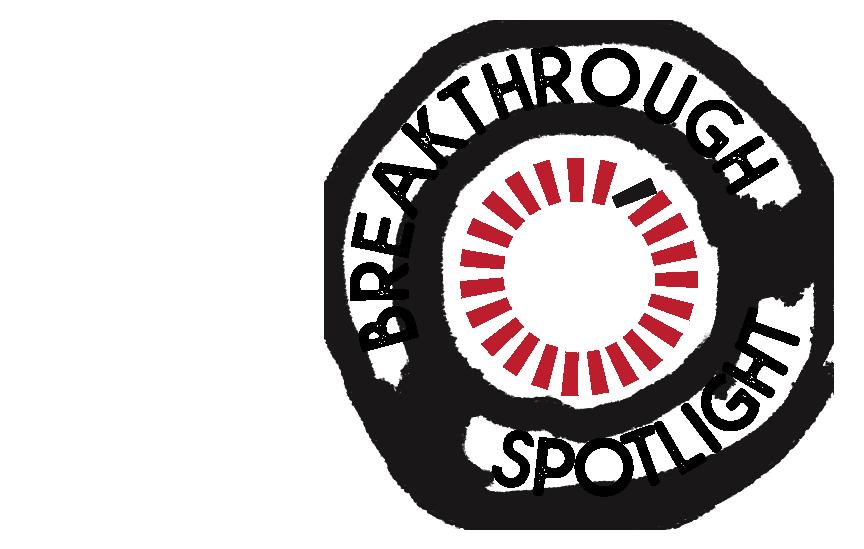 Breakthrough Spotlight Logo (black)