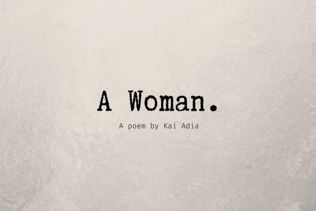 International Women's Graphic Kai Adia