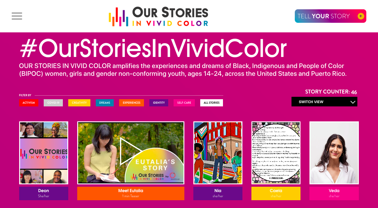 Our Stories In Vivid Color
